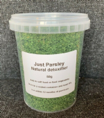 JUST PARSLEY FOR ALL BIRDS 50g TUB - NATURAL DETOXIFIER - JUST SUPPLEMENTS